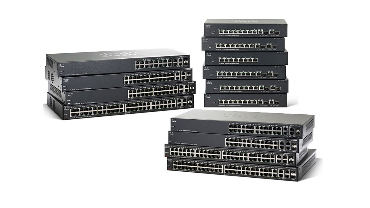 Switches Cisco de la serie 300 Small Business