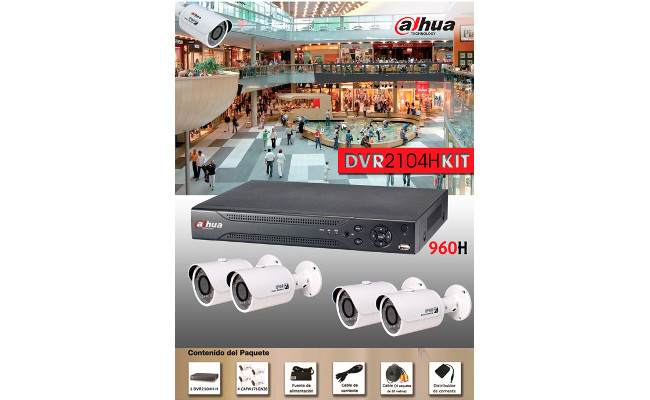 KIT DAHUA DVR2104HKIT