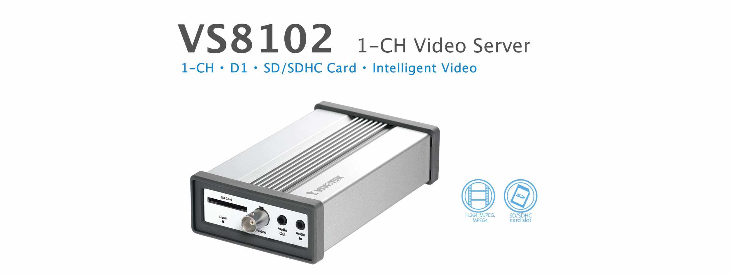 Video server Vivotek VS8102