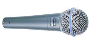 Micrófono vocal Shure BETA 58A