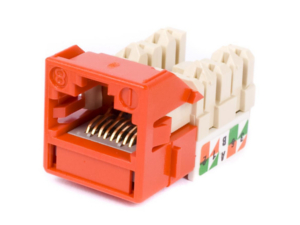 Jack Uniprise UNJ600 Cat 6 [Orange]