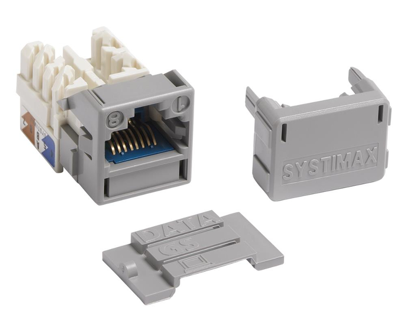 Jack modular Systimax MGS600 Series Cat 6A