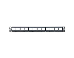 Panel modular Panduit de 24 jacks mini-com