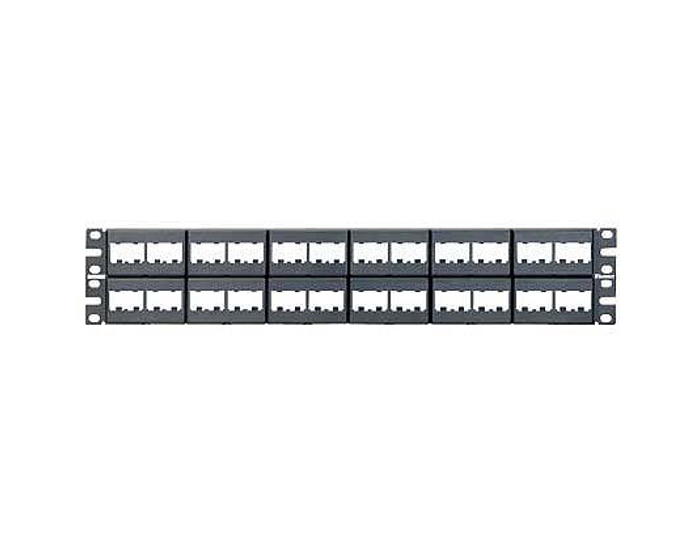 Panel modular Panduit de 48 jacks mini-com