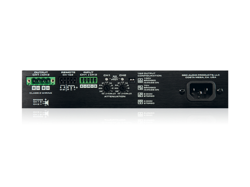 Amplificador QSC SPA2-60