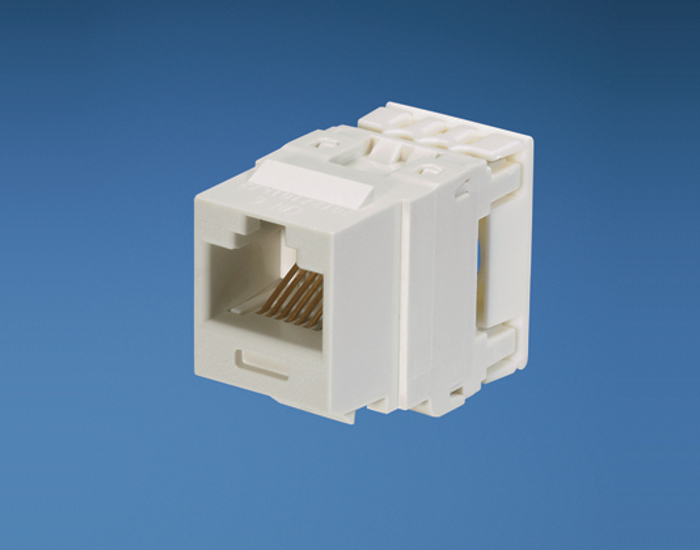 Jack Panduit NetKey Cat 6 [White]
