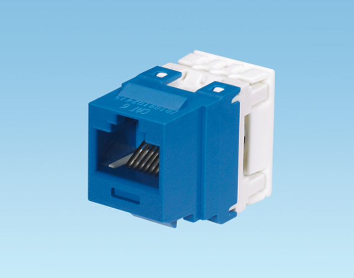 Jack Panduit NetKey Cat 6 [Blue]