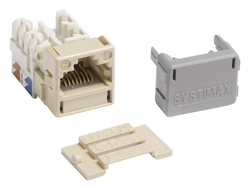 Jacks Systimax GigaSPEED XL MGS400 Series Cat 6 [Ivory]
