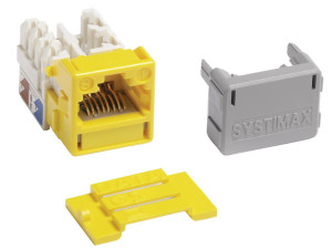Jacks Systimax GigaSPEED XL MGS400 Series Cat 6 [Yellow]