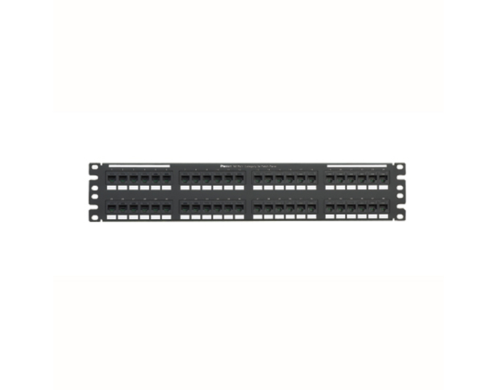 Panel de parcheo Panduit NetKey Cat 5E de 48 puertos