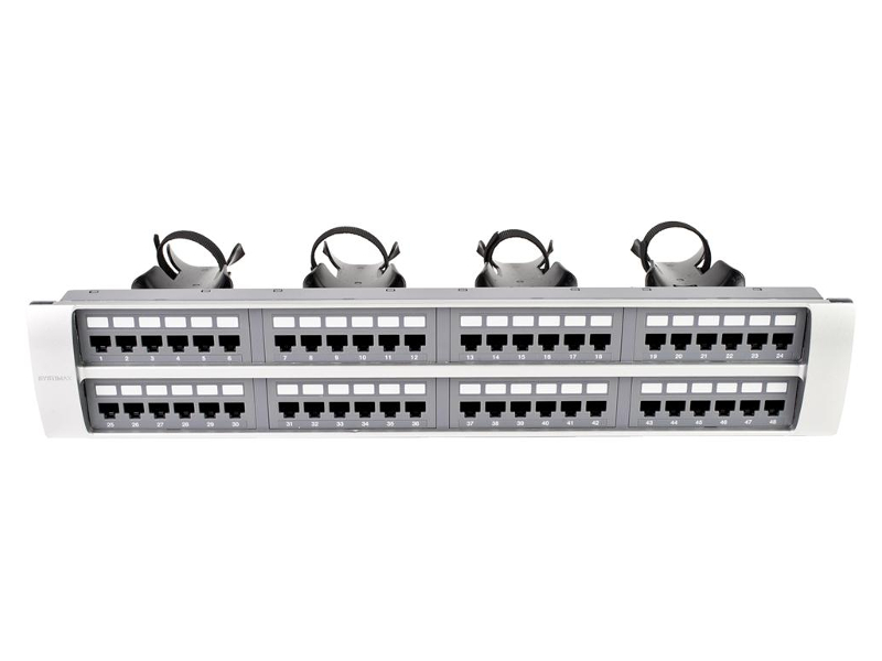 Patch panel Systimax 360 GigaSPEED XL de 48 puertos
