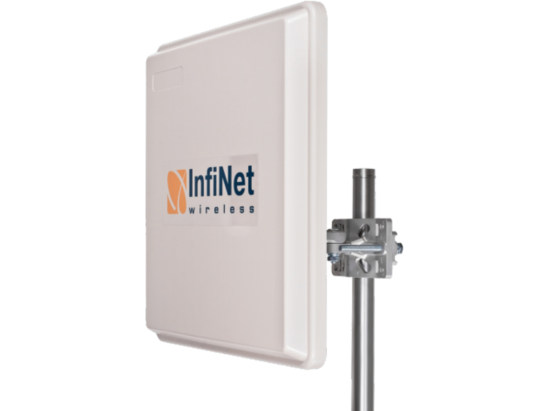 Radio enlace punto a punto Infinet Wireless 2x2 Antenna 26 dBi