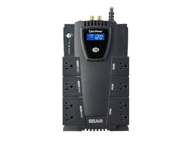 No Break CyberPower Intelligent LCD CP685AVRLCD