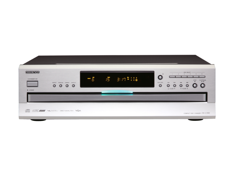 Reproductor para 6 CDs y MP3 Onkyo DX-C390