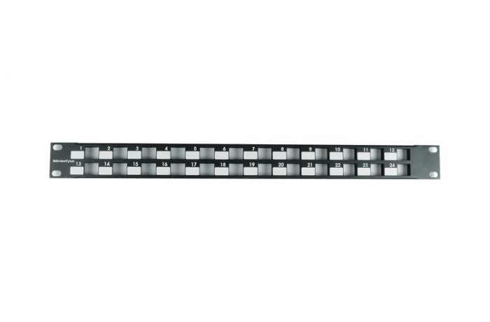 Patch panel modular HellermannTyton de 24 puertos