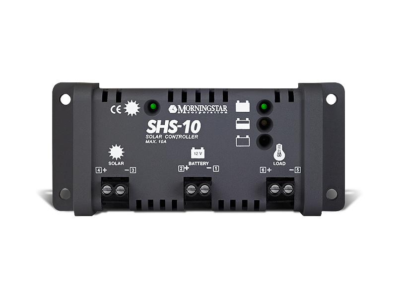 Controlador de carga y descarga Morningstar SHS-10