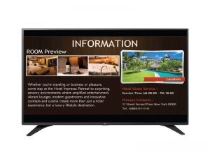 TV LED Full HD LG SuperSign 55LW540S