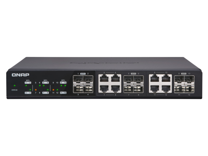 Switch 10GbE Qnap QSW-1208-8C